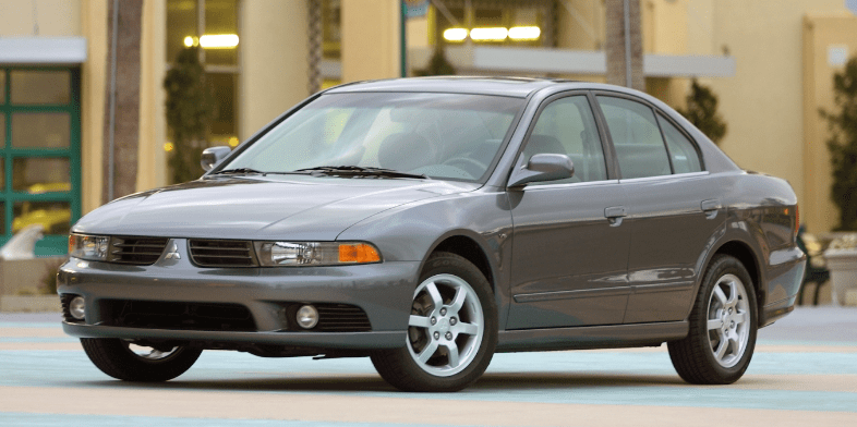 2001 Mitsubishi Galant Concept and Owners Manual