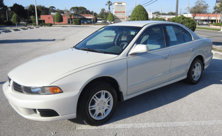 2003 Mitsubishi Galant Concept and Owners Manual