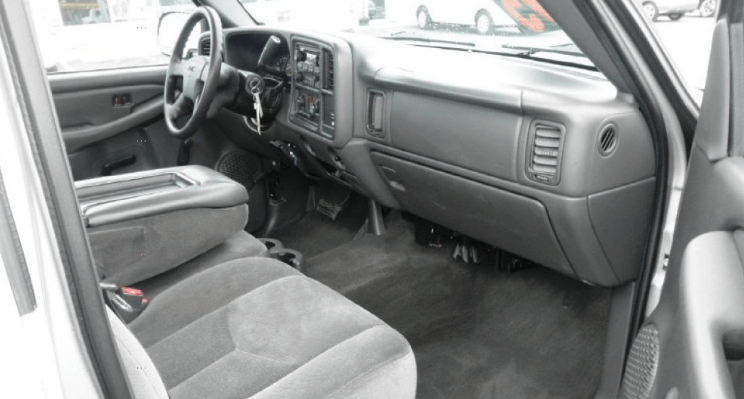 2004 GMC Sierra Interior and Redesign