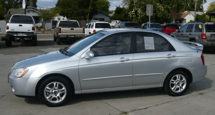 2004 Kia Spectra Concept and Owners Manual