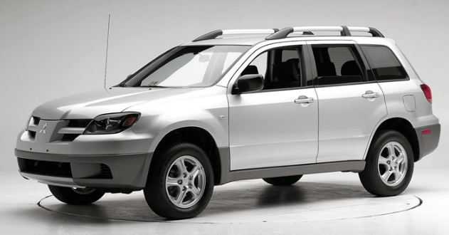 2005 Mitsubishi Outlander Concept and Owners Manual