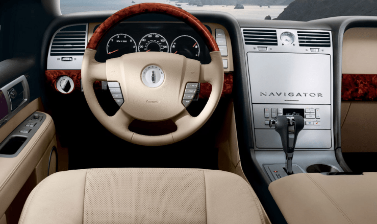 2006 Lincoln Navigator Interior and Redesign