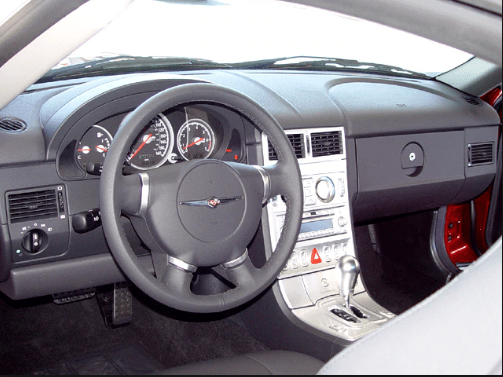 2008 Chrysler Crossfire Interior and Redesign
