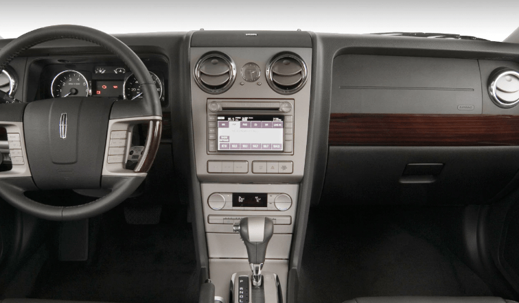 2008 Lincoln MKZ Interior and Redesign