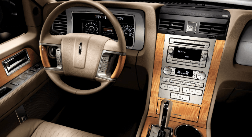 2008 Lincoln Navigator Interior and Redesign
