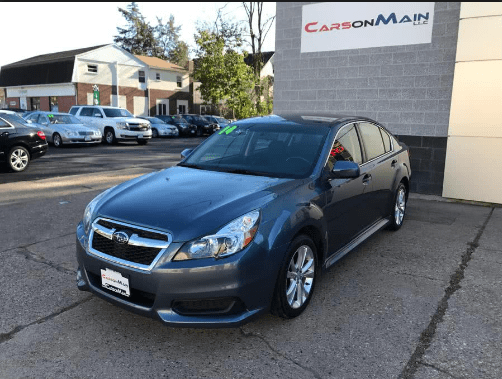 2014 Subaru Legacy Owners Manual and Concept