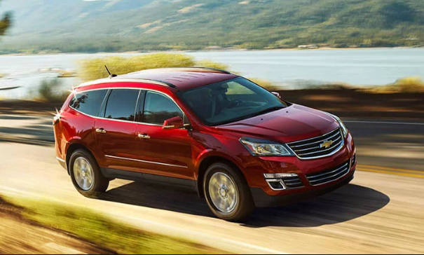 2017 Chevrolet Traverse Owners Manual and Concept