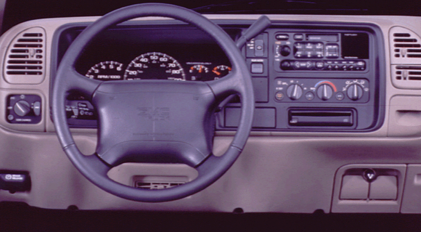 1997 GMC Yukon Interior and Redesign