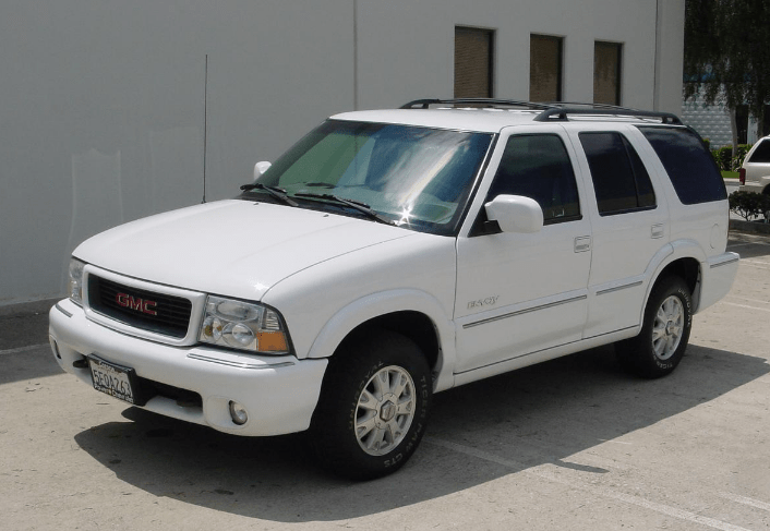1999 GMC Envoy Concept and Owners Manual