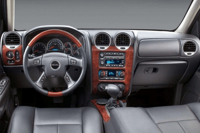 1999 GMC Envoy Interior and Redesign