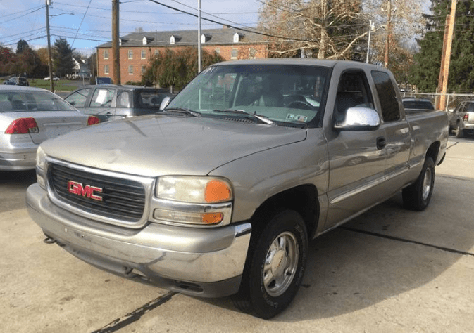 1999 GMC Sierra Concept and Owners Manual