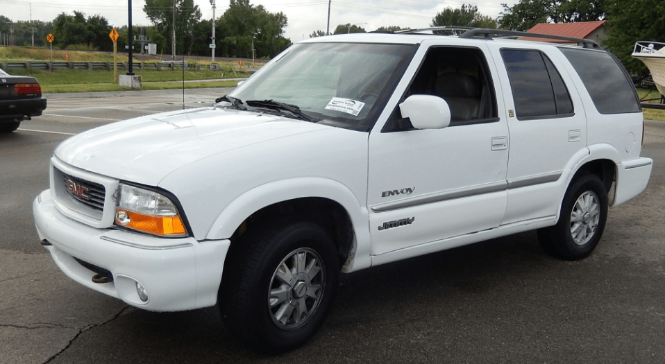 2000 GMC Envoy Jimmy Concept and Owners Manual