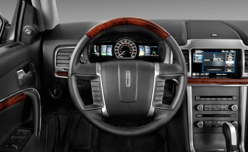 2012 Lincoln MKZ Hybrid Interior and Redesign