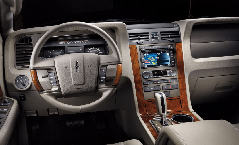 2012 Lincoln Navigator Interior and Redesign