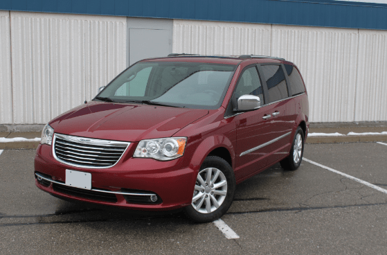 2016 Chrysler Town & Country Owners Manual and Concept