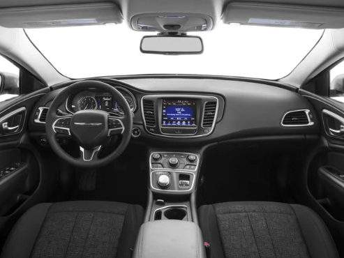 2017 Chrysler 200 Interior and Redesign