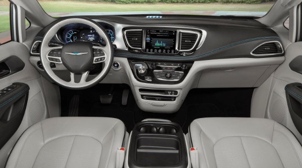 2017 Chrysler Pacifica Hybrid Interior and Redesign
