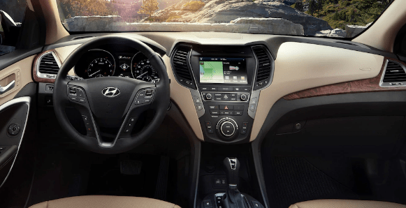 2017 Hyundai Santa Fe Interior and Redesign