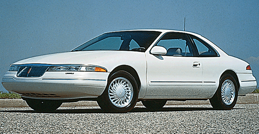 1996 Lincoln Mark VIII Owners Manual