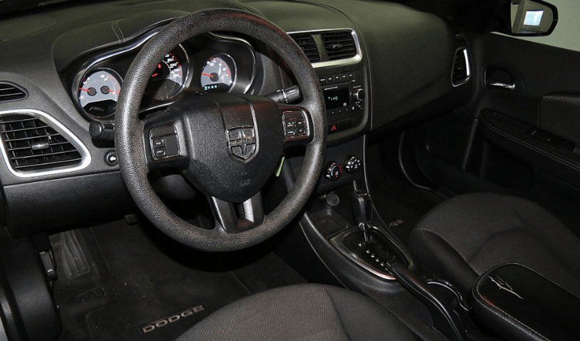 2013 Dodge Avenger Interior and Redesign