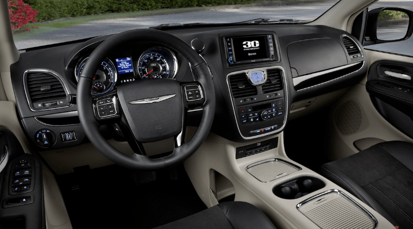 2014 Chrysler Town & Country Interior and Redesign