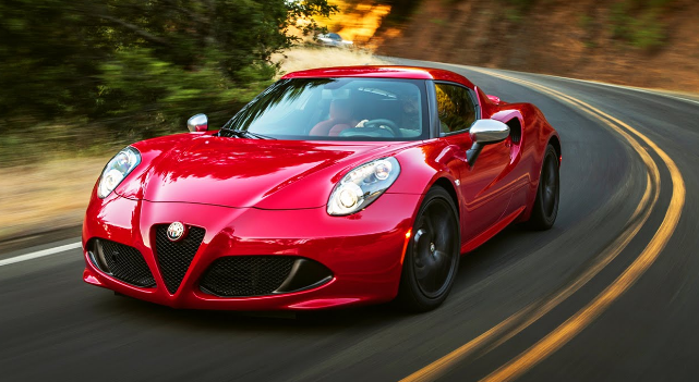 2015 Alfa Romeo 4C Manual PDF