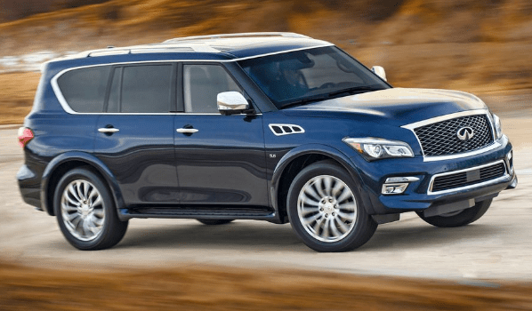 2015 Infiniti QX80 Owners Manual and Concept