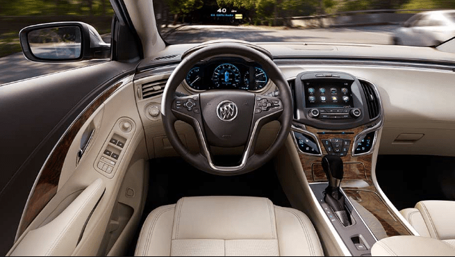2016 Buick LaCrosse Interior and Redesign