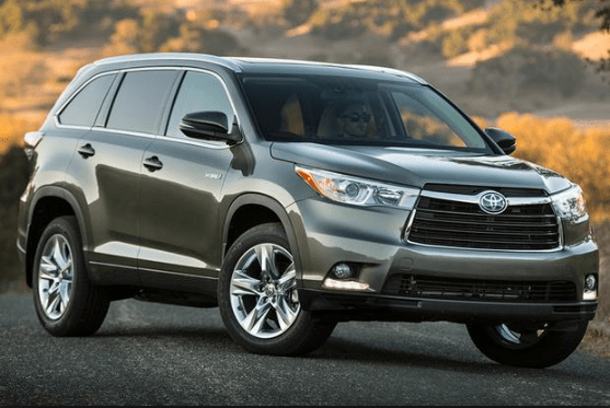 2015 Toyota Highlander Hybrid Owners Manual and Concept