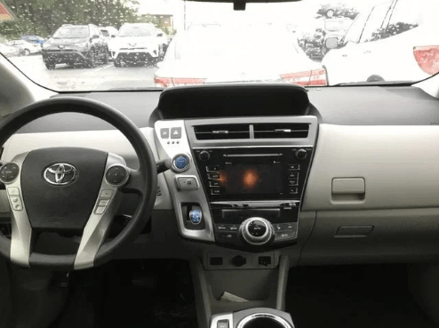 2015 Toyota Prius v Interior and Redesign