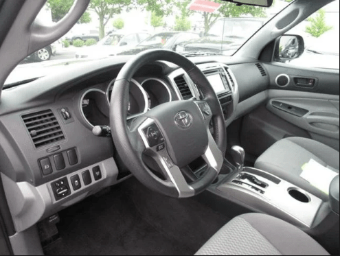 2015 Toyota Tacoma Interior and Redesign