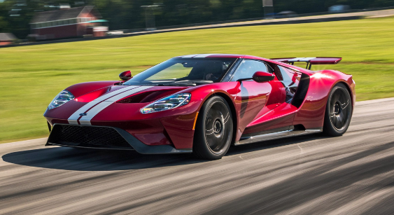 2018 Ford GT Owners Manual