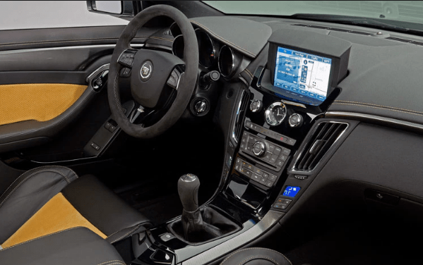 2011 Cadillac CTS-V Coupe Interior and Redesign