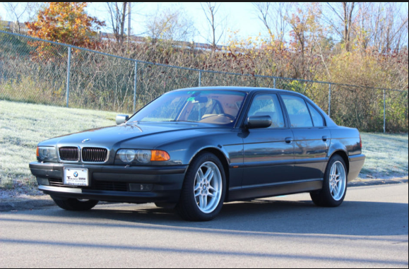2000 BMW 740i Owners Manual and Concept