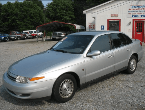 2001 Saturn L-Series Owners Manual and Concept