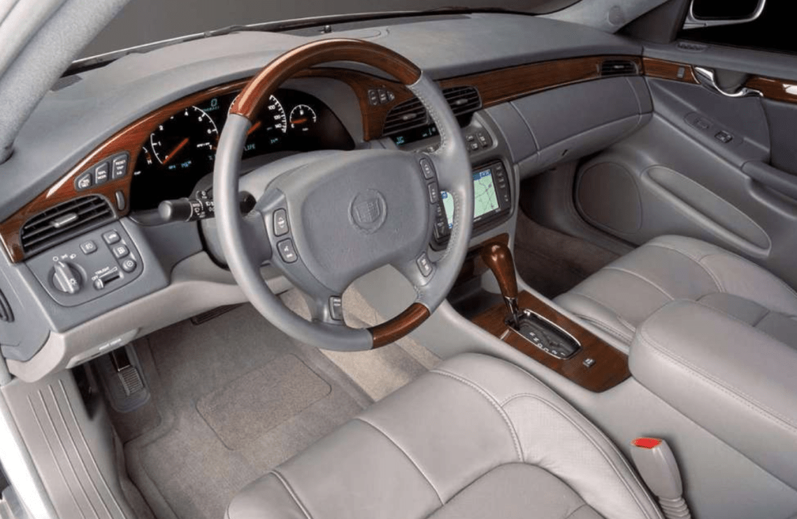 2002 Cadillac Seville Interior and Redesign