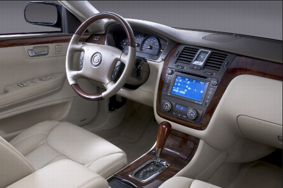 2007 Cadillac DTS Interior and Redesign