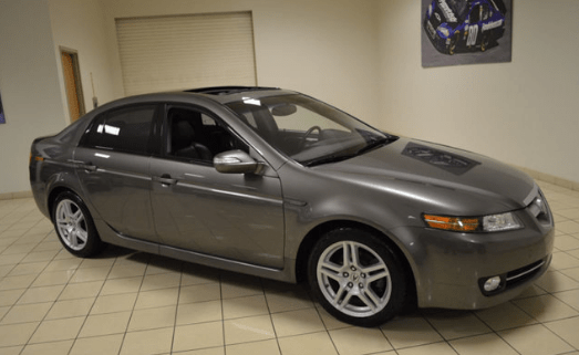 2008 Acura TL Owners Manual