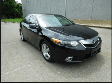 2012 Acura TSX Owners Manual