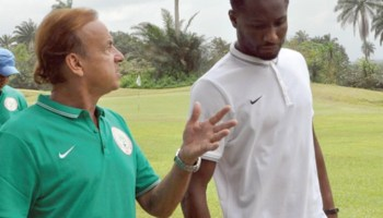 Image result for Mikel and Gernot Rohr