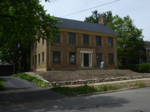 Picture of the Hoben House, a restoration project in Kalamazoo MI