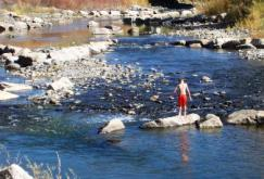 pagosa springs playing on the river
