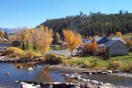 pagosa springs river landscape