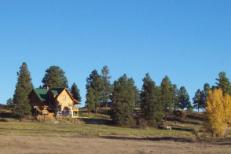 Upper hwy 84 pagosa landscape home