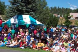 pagosa springs event crowd