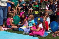 pagosa springs event kids watching