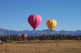 more hot air balloons