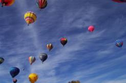 pagosa springs so many ballons!
