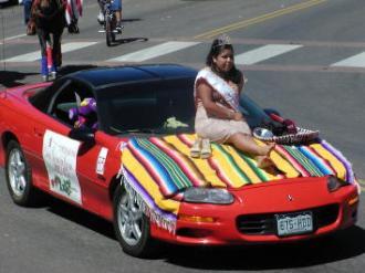 pagosa springs parade car