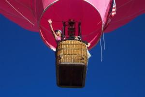Pagosa springs hot air basket